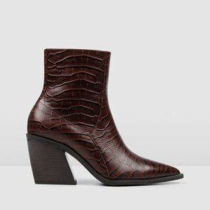 Jo Mercer NWB Fonda Mid Ankle Bootie